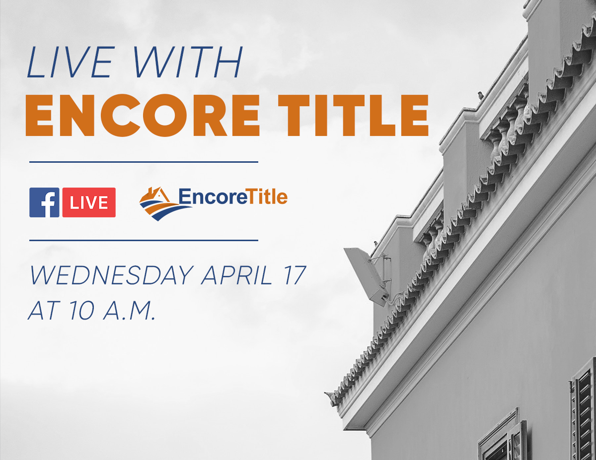 Facebook Live with Encore Title